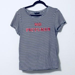 "Eleven Paris ""No Pictures "" Top"